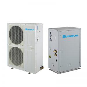 Термопомпа въздух вода EVI Сплит Серия за отопление до -25 градуса
