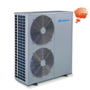 SPRSUN Термопомпа въздух вода Тринити EVI Серия за отопление до -25 градуса
