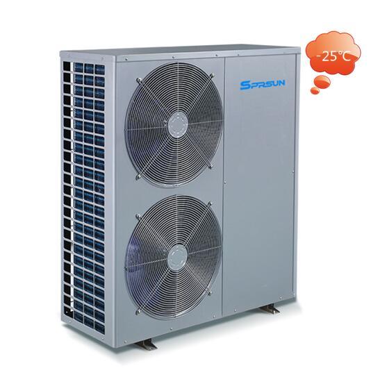 Термопомпа Тринити EVI за отопление до -25 градуса