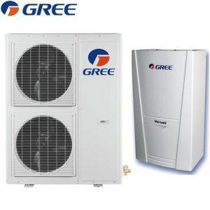 Термопомпа Gree въздух вода Versati на най-ниски цени в Пловдив