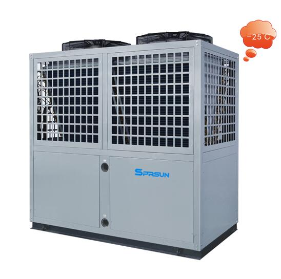 Термопомпа EVI Серия за отопление и охлаждане до -25 градуса