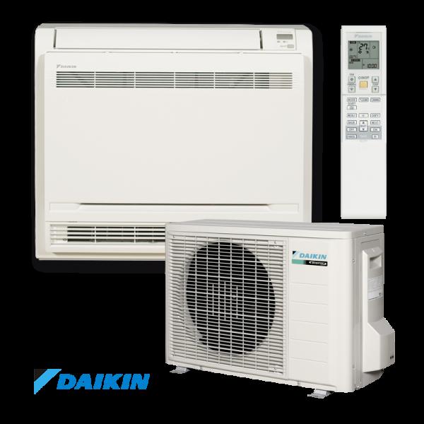 Инверторен климатик Daikin Professional FVXS25F / RXS25L3 - подово тяло на супер цени в Пловдив от Клима Калор ЕООД