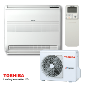 Инверторен климатик Toshiba Bi-flow RAS-B10UFV-E / RAS-10N3AV2-E - подов тип на супер цени в Пловдив от Клима Калор ЕООД