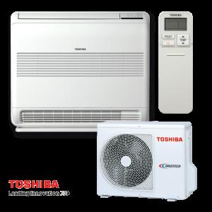 Инверторен климатик Toshiba Bi-flow RAS-B18UFV-E / RAS-18N3AV2-E - подов тип на супер цени в Пловдив от Клима Калор ЕООД