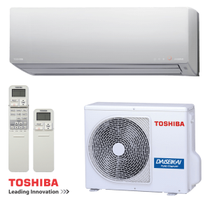 Инверторен климатик Toshiba Super Daiseikai 8 RAS-13G2KVP-E / RAS-13G2AVP-E на супер цени в Пловдив от Клима Калор ЕООД