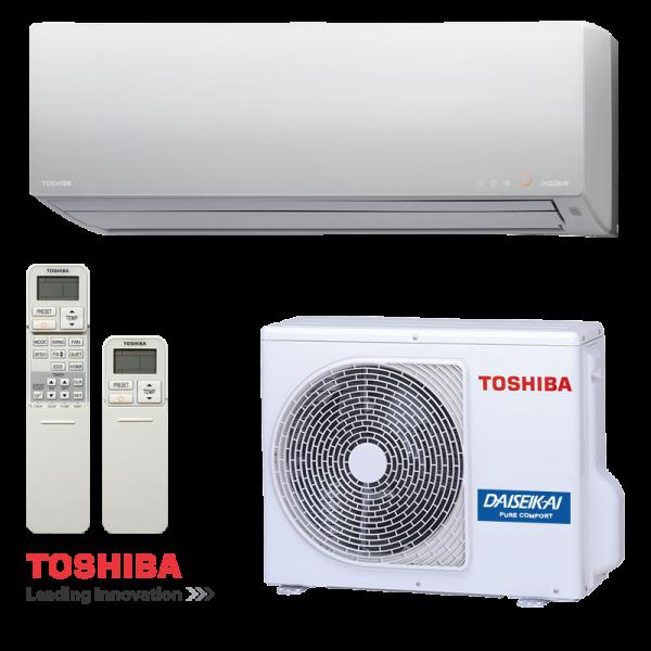 Инверторен климатик Toshiba Super Daiseikai 8 RAS-13G2KVP-E / RAS-13G2AVP-E