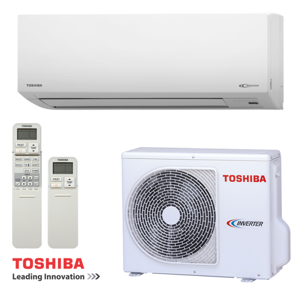 Инверторен климатик Toshiba Suzumi Plus RAS-B10N3KV2-E1 / RAS-10N3AV2-E на супер цени в Пловдив от Клима Калор ЕООД