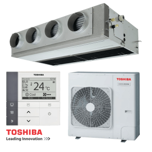 Канален климатик Toshiba RAV-SM1406BTP-E / RAV-SM1404ATP-E на супер цени в Пловдив от Клима Калор ЕООД