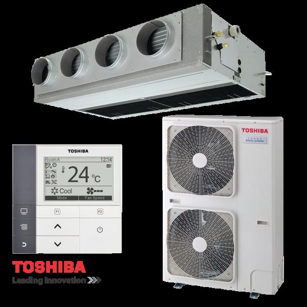 Канален климатик Toshiba RAV-SM1606BTP-E / RAV-SM1603ATP-E на супер цени в Пловдив от Клима Калор ЕООД