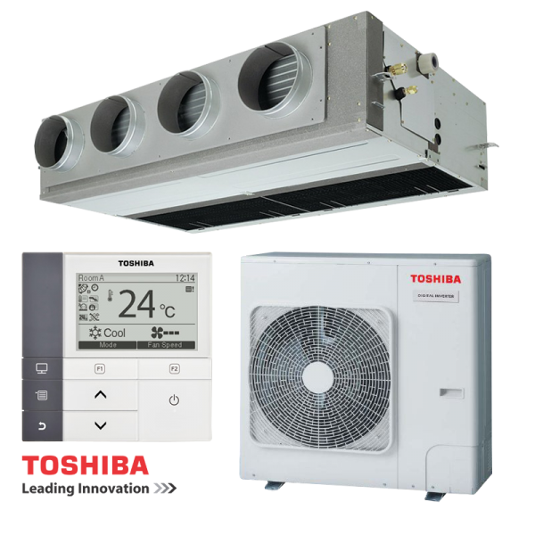 Канален климатик Toshiba RAV-SM806BTP-E / RAV-SM804ATP-E на супер цени в Пловдив от Клима Калор ЕООД