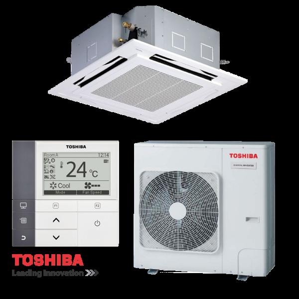 Касетъчен климатик Toshiba RAV-SM1104UTP-E / RAV-SM1104АTP-E1 на супер цени в Пловдив от Клима Калор ЕООД