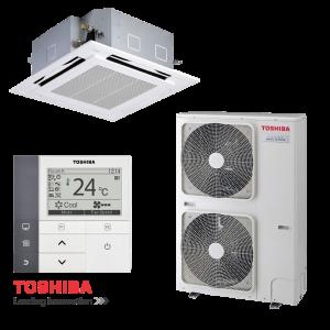 Касетъчен климатик Toshiba RAV-SM1604UTP-E / RAV-SM1603АTP-E на супер цени в Пловдив от Клима Калор ЕООД