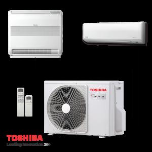 Мултисплит система Toshiba RAS-2M18S3AV-E - външно тяло на супер цени в Пловдив от Клима Калор ЕООД