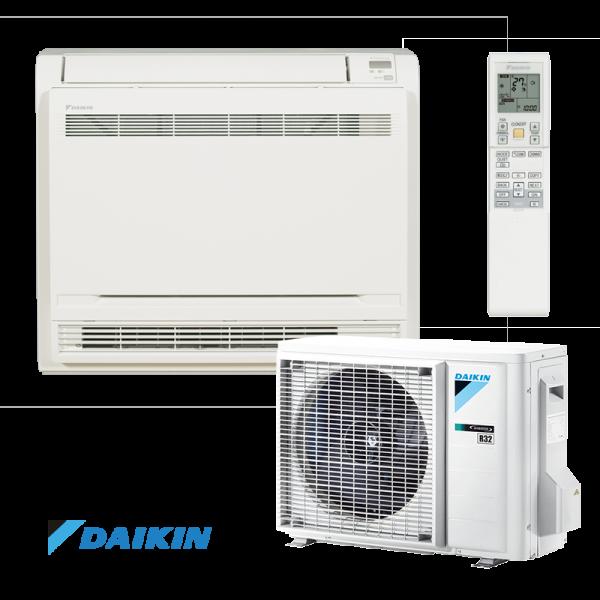 Инверторен климатик Daikin Professional FVXM25F / RXM25M9 - подово тяло на супер цени в Пловдив от Клима Калор ЕООД