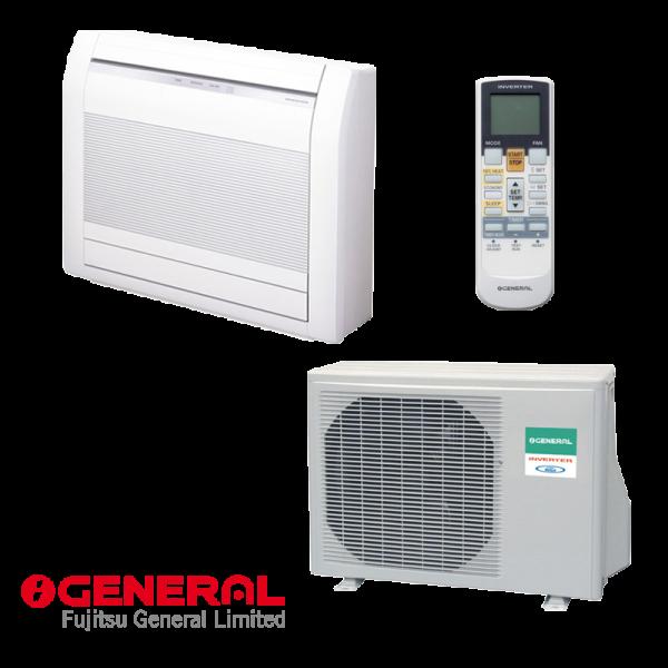 Инверторен климатик Fujitsu General AGHG12LVCA / AOHG12LVCA - подово тяло