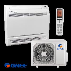 Инверторен климатик Gree GEH09AA / K3DNA1D - подов тип на супер цени в Пловдив от Клима Калор ЕООД
