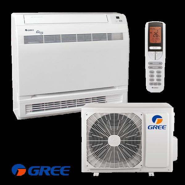 Инверторен климатик Gree GEH12AA / K3DNA1D - подов тип на супер цени в Пловдив от Клима Калор ЕООД