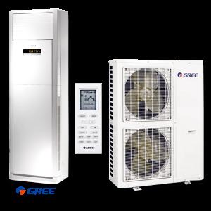 Колонен климатик Gree GVA36AH / M3NNA5A на супер цени в Пловдив от Клима Калор ЕООД