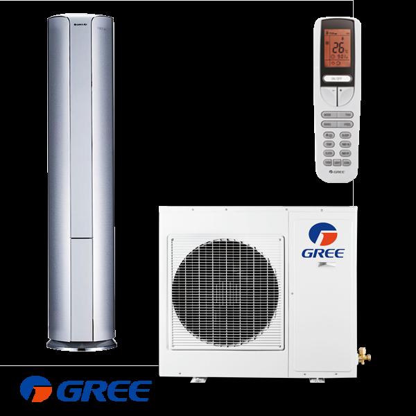 Колонен климатик Gree GVH24AK / K3DNC6A II на супер цени в Пловдив от Клима Калор ЕООД