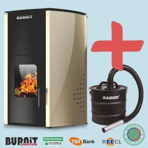 Пелетнa каминa BURNiT Comfort 18 kW