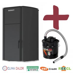 Пелетна камина BURNiT Advant 4G B2 13kW