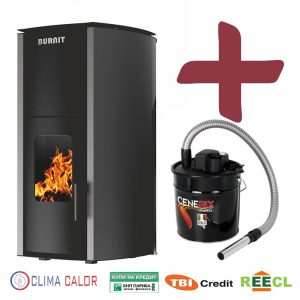 Пелетнa каминa BURNiT Advant 4G 18 kW