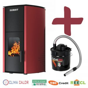 Пелетнa каминa BURNiT Advant 4G 25 kW