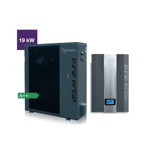 Инверторна термопомпа въздух-вода Aqua Aura 19 kW