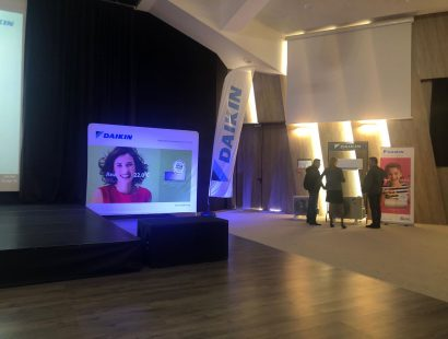 Клима Калор на семинара на Daikin 2019