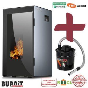 Пелетнa каминa BURNiT Vision 4G 25 kW