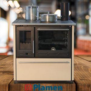 Готварска печка Plamen 850 Glas 11kW