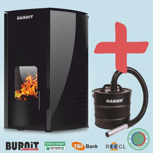 Пелетна камина BURNiT Comfort 13 kW