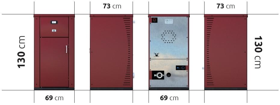 Пелетен котел MAXIMA 33 KW
