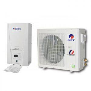 Термопомпа Gree Versati II GRS-CQ10Pd/NaB-K, 10 kW, отопление, охлаждане и БГВ