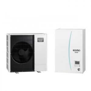 Термопомпа Mitsubishi Electric ERSC-VM2C/PUHZ-SHW80VAA ZUBADAN, 8 kW, отопление, охлаждане и БГВ