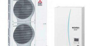 Термопомпа Mitsubishi Electric ERSC-VM2C/PUHZ-SW120YHA, 16 kW, отопление, охлаждане и БГВ
