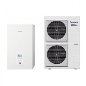 Термопомпа Panasonic Aquarea WH-SXC09H3E5/WH-UX09HE5 T-CAP, 9 kW