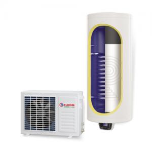 Термопомпен бойлер, със соларна серпентина Елдом 120л